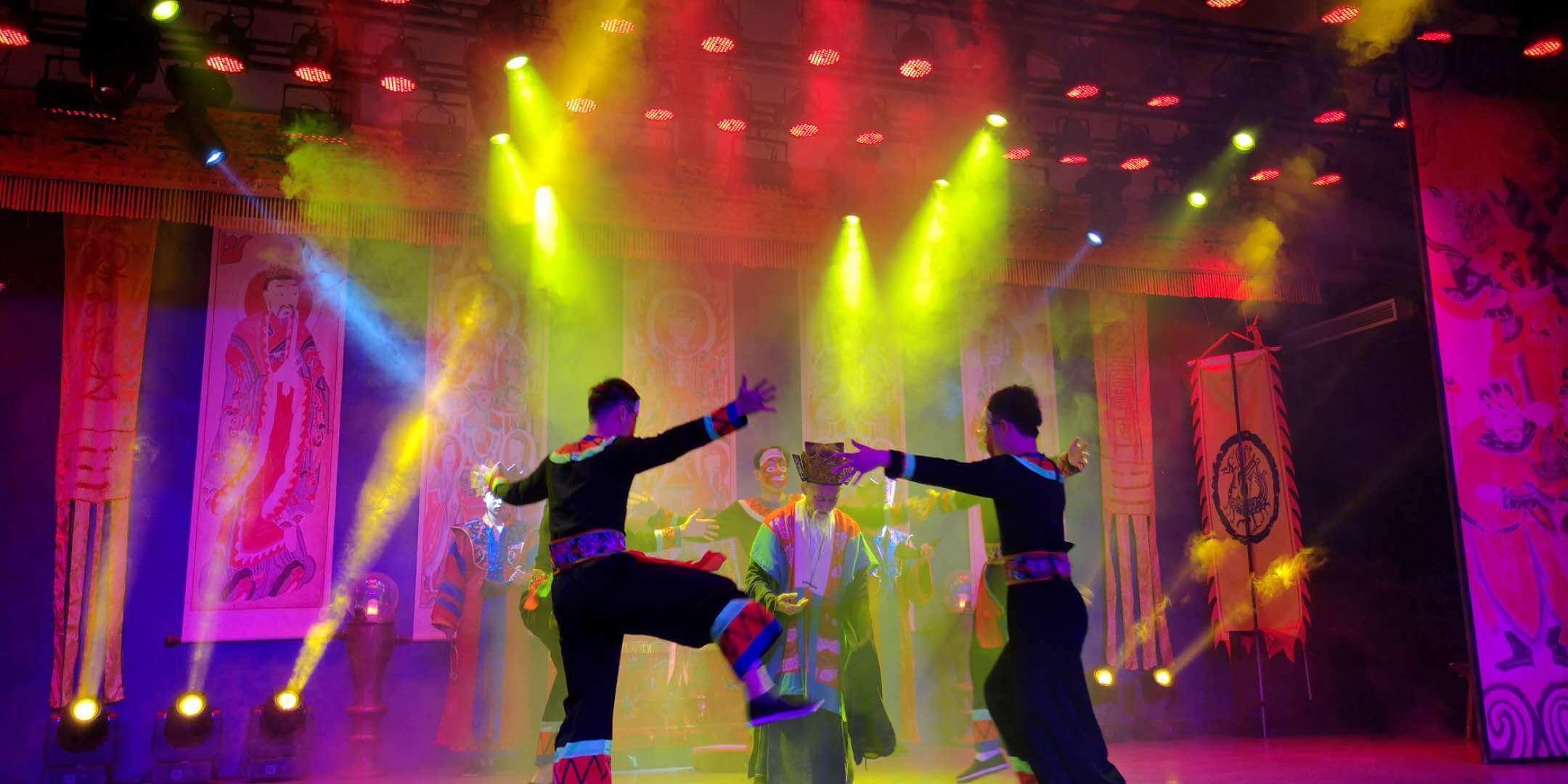 湘西巫傩文化表演