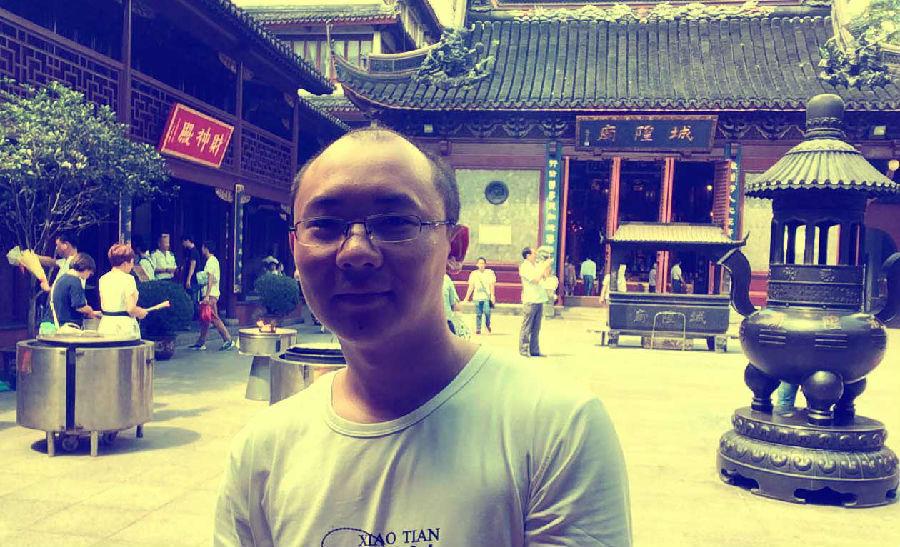 旅行途中上海小憩