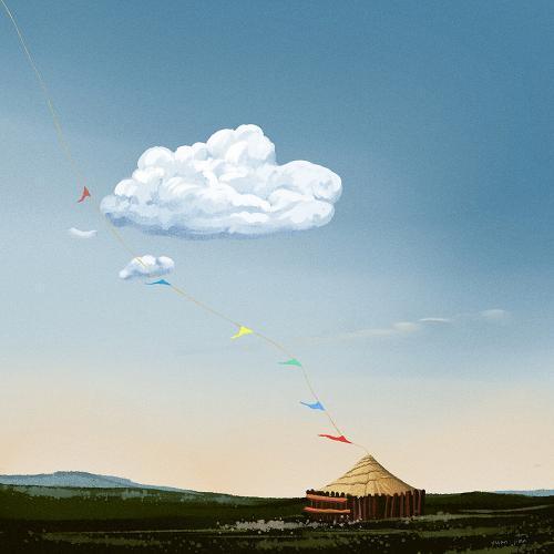 飘向天边的云,你慢些走